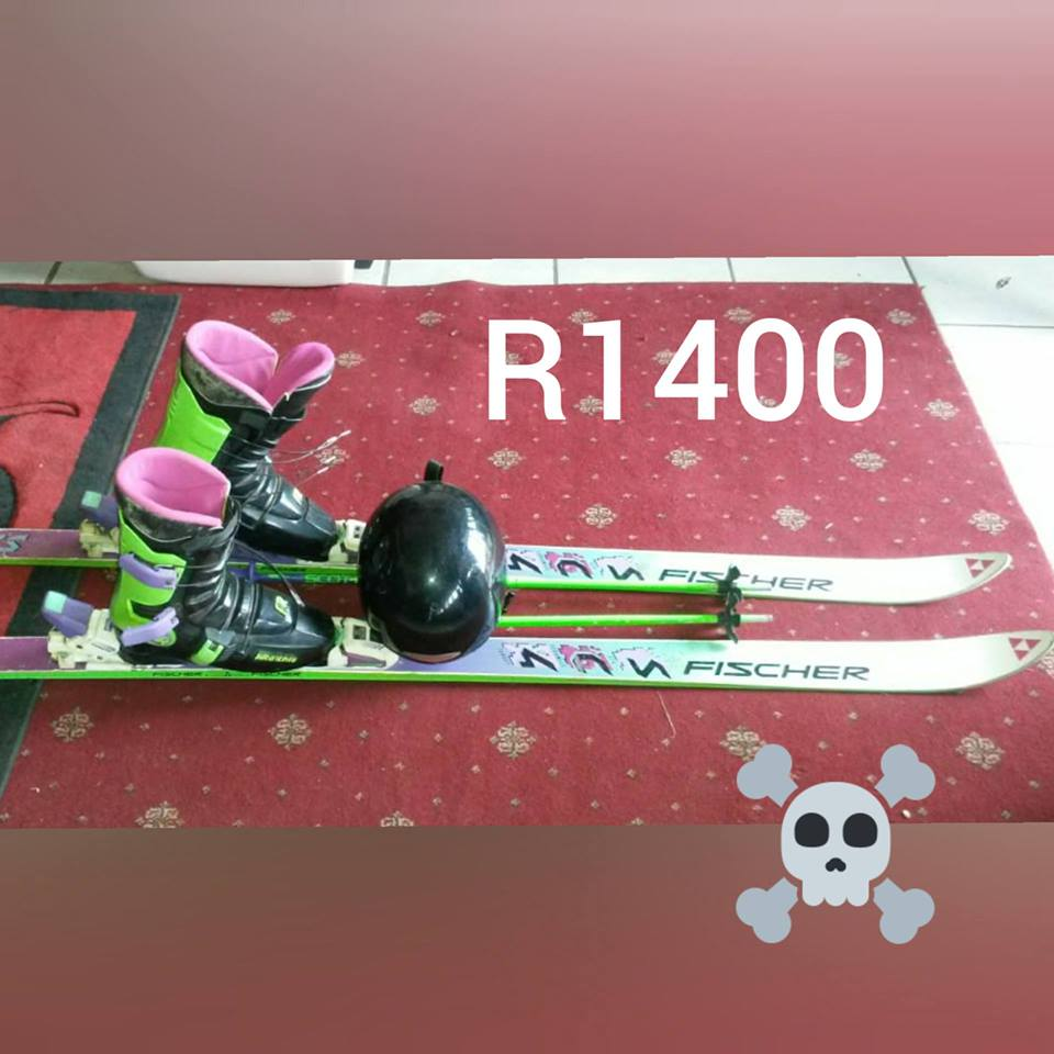 Fisher ski set for sale