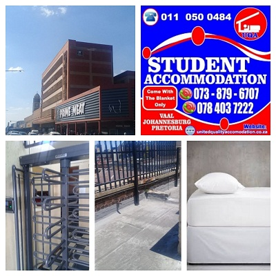 Student Accommodation in the Vereeniging (CBD) After Lockdown and for Next Year.