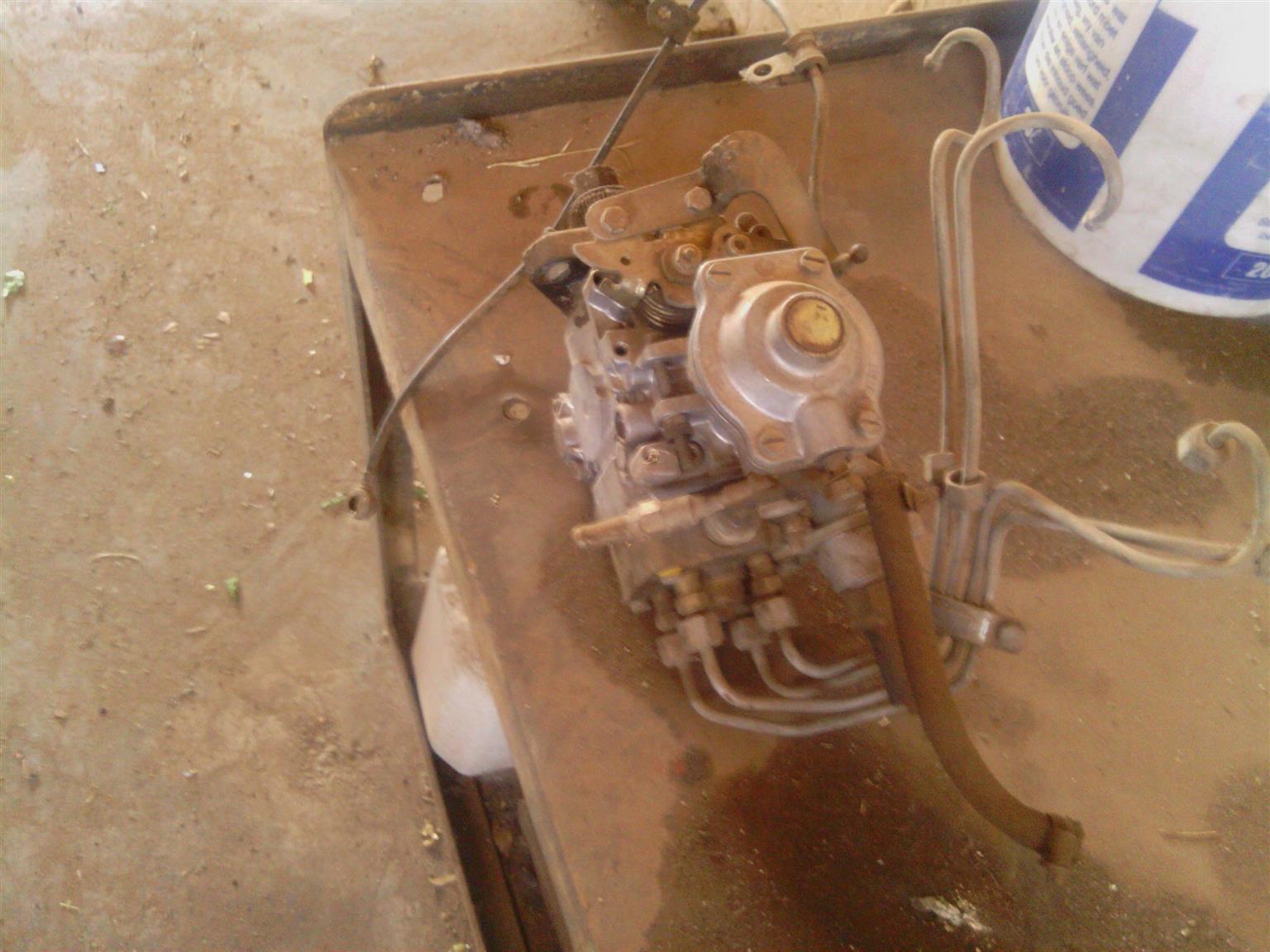 Iveco Turbo Dailey manual diesel pump