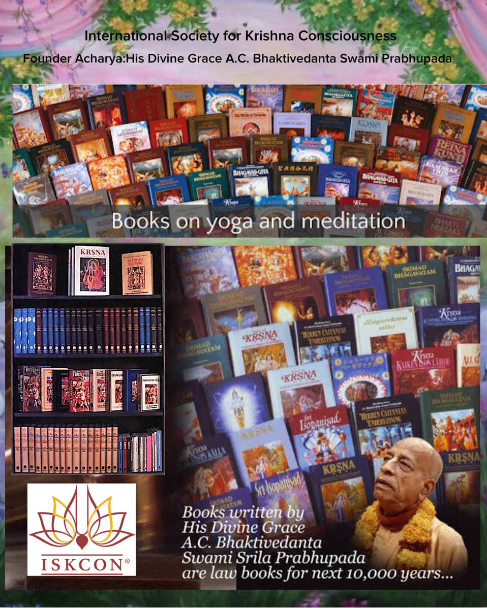 Bhakti Yoga Books by His Divine Grace A.C. Bhaktivedanta Swami Prabhupāda from R8 to R3500 a set
