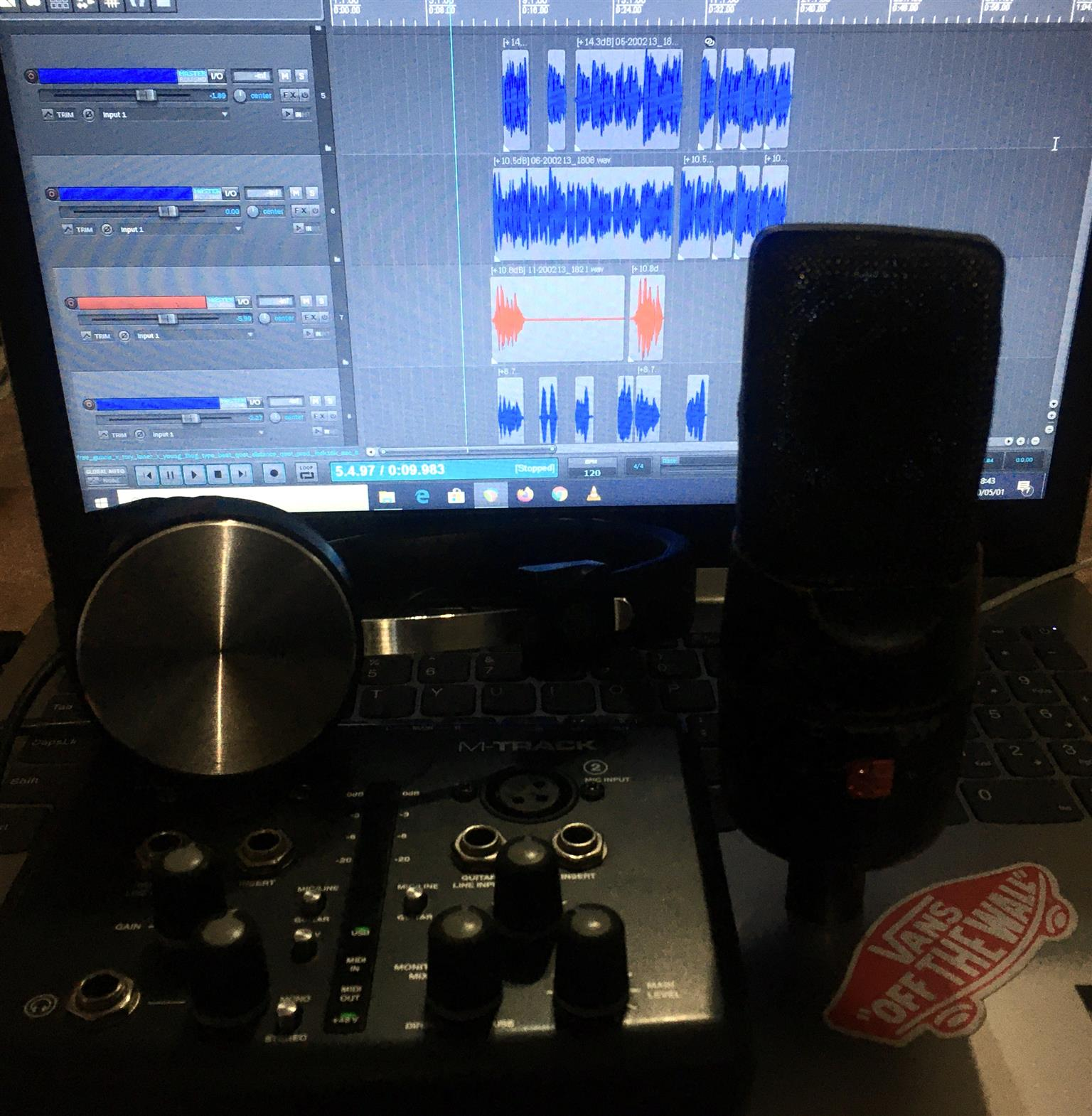 M-Audio Soundcard + SE Condenser Mic + Free ProTools HD Recording Software