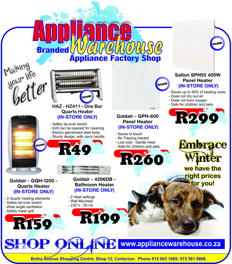 Appliance Warehouse Centurion