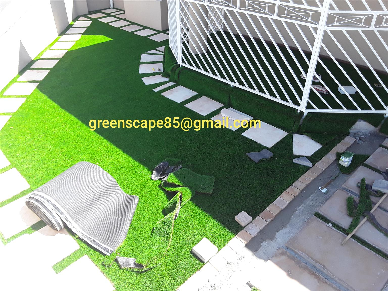 SAVE WATER #ARTIFICIAL GRASS LANDSCAPING TURF# BLOCK AND TURF# SUPPLY AND INSTALLATION