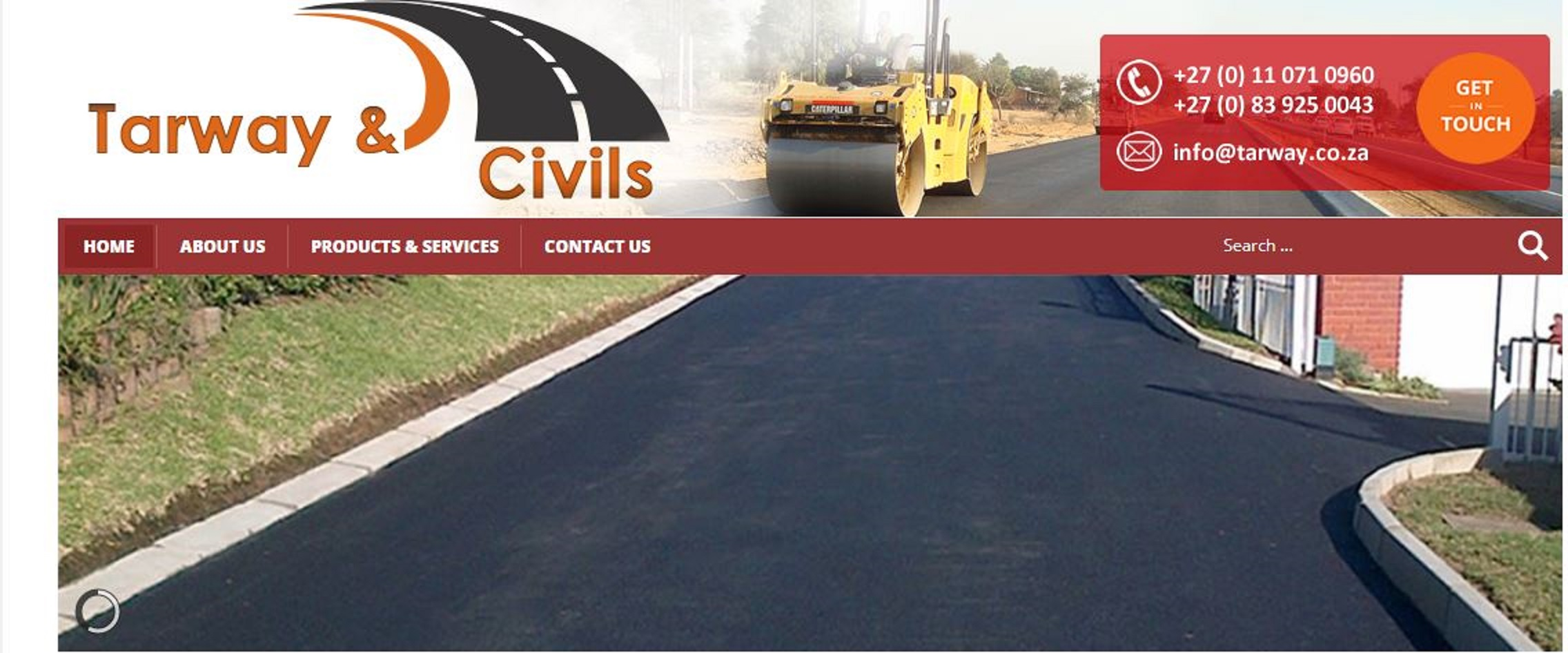 Paving and tarring services