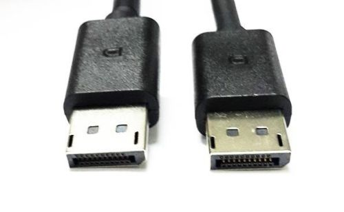 Lot of 50 DELL DisplayPort Male to Male Cables 1.8m