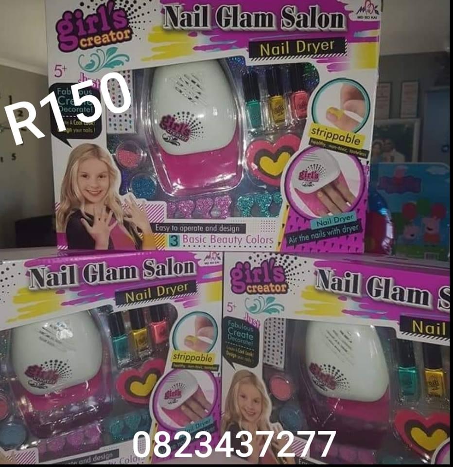 Nail glam kiddies salon