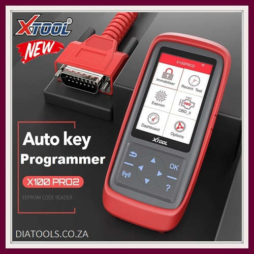 XTOOL X100 Pro 2 OBD2 Auto Key Programmer/Mileage adjustment Including EEPROM Code Reader