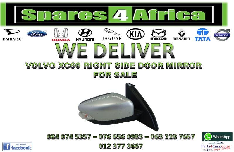 VOLVO XC60 RIGHT SIDE DOOR MIRROR FOR SALE
