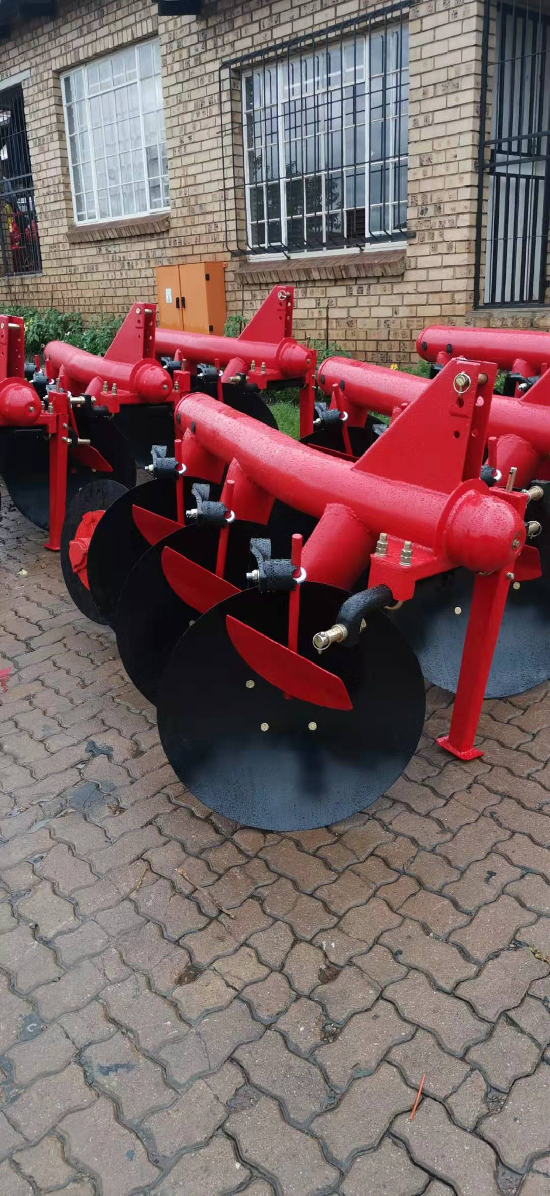 Pipe Design Disc Ploughs