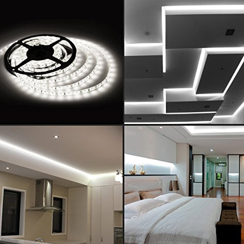 huge discount d19f0 c5a7f LED Strip Lights: 12Volts Non-Waterproof SMD5050 Cool White Colour 5-metre  Rolls.
