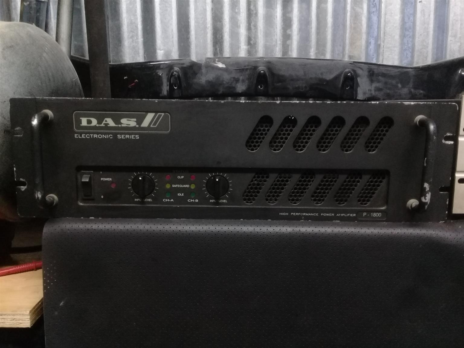 Jb systems Ctwo 800 & Das P1800