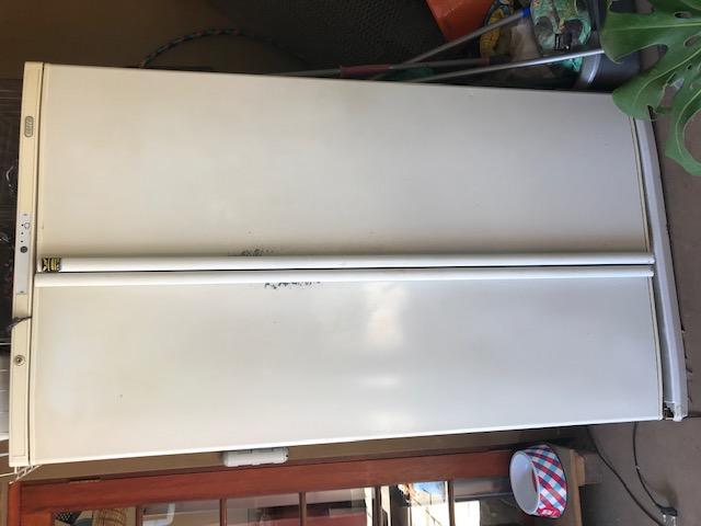 Big double door fridge swop for tv