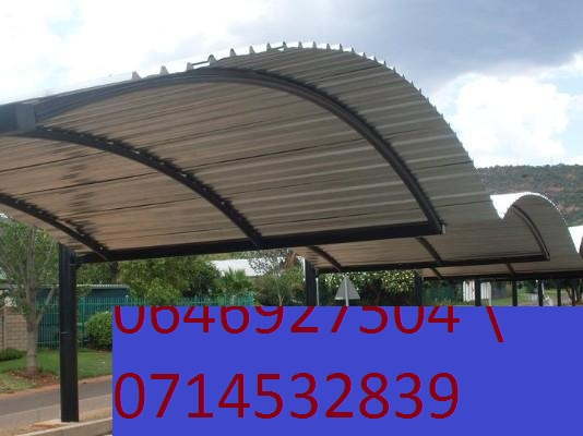Carports & shed pots installers with affordable prices contact us with quality ibr sheets, 95% shed netting which is highly prevent from hail and sun