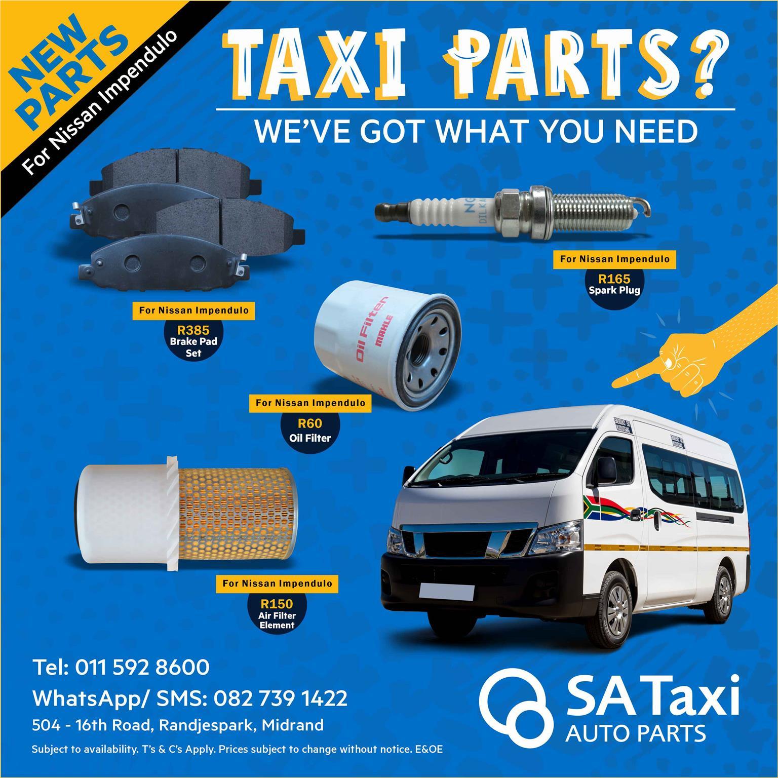 NEW CRANK SENSOR suitable for Nissan NV350 Impendulo - SA Taxi Auto Parts quality spares