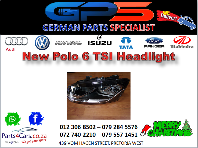 New Polo 6 TSI Headlight for Sale