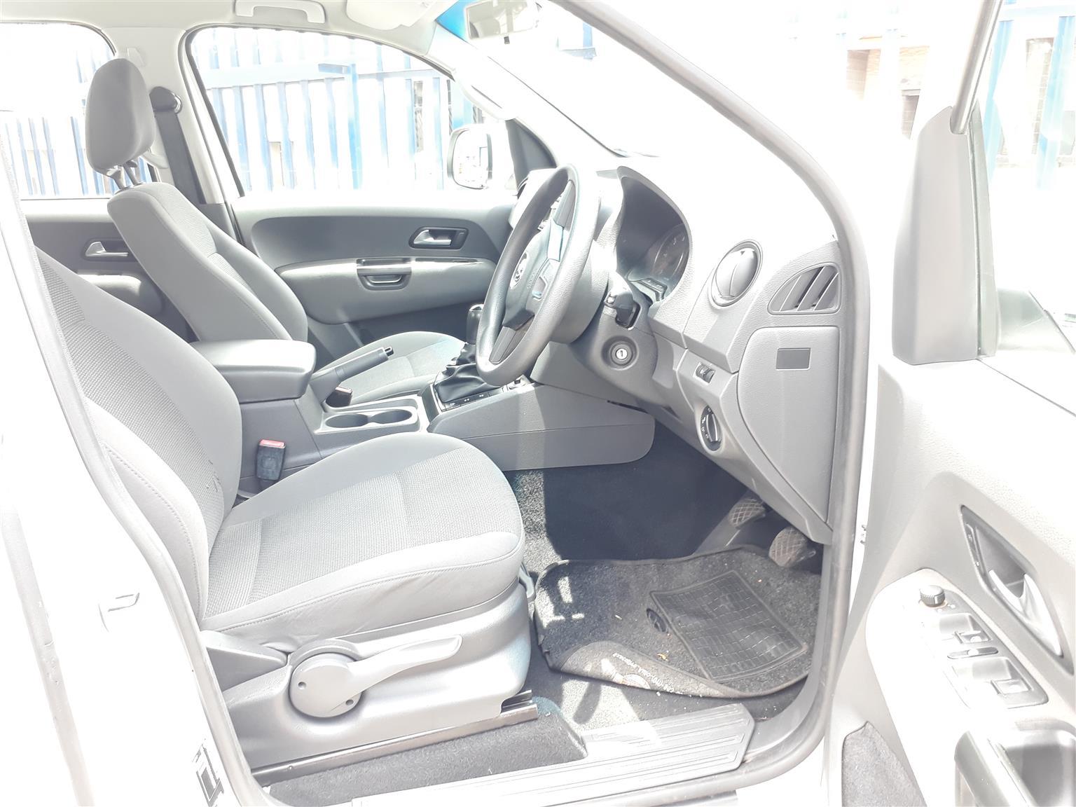 2013 VW Amarok 2.0TDI double cab Comfortline