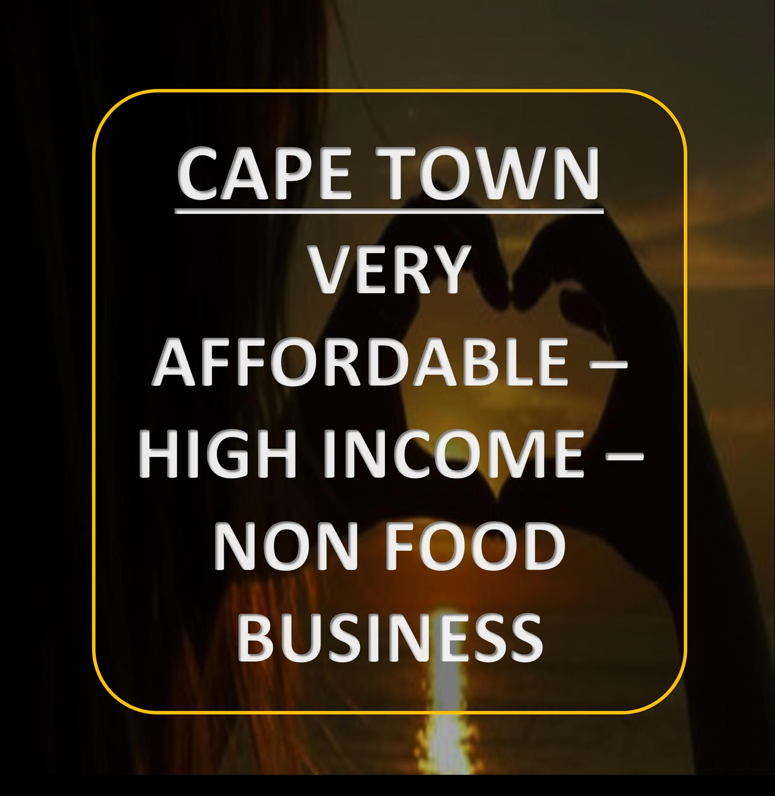 CAPE TOWN - HOME BASED - LOW COST - HIGH INCOME - SALES AND MARKETING BUSINESS