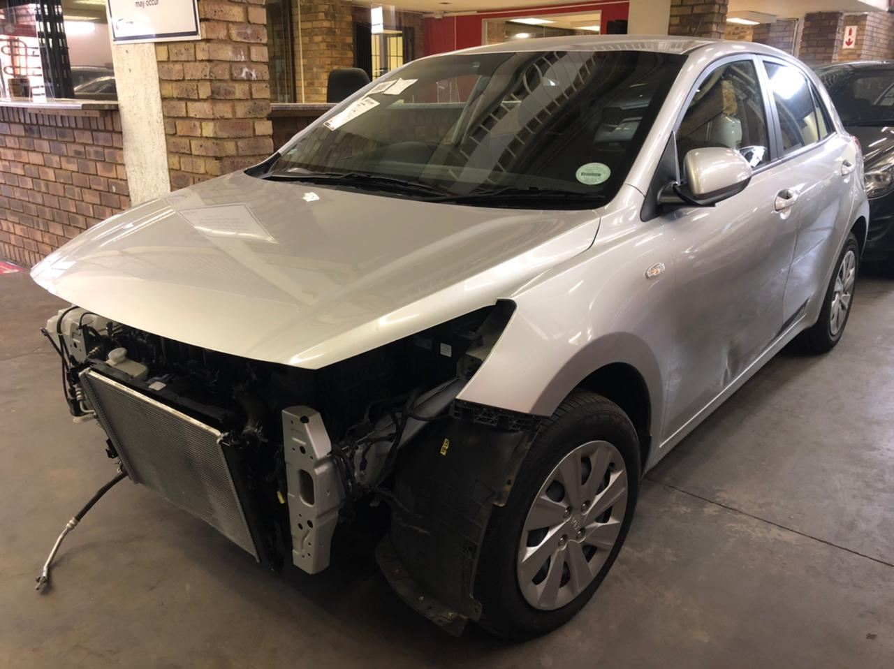 2019 Kia Rio 1.2 Hatch Accident damaged