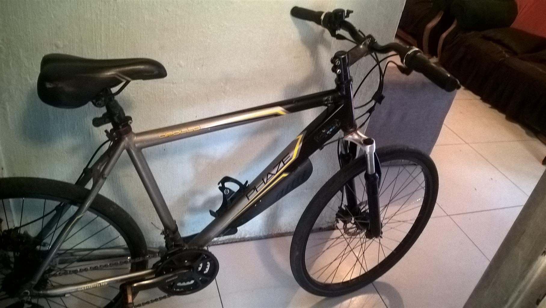 26inch apollo bicycle good condition hardly used