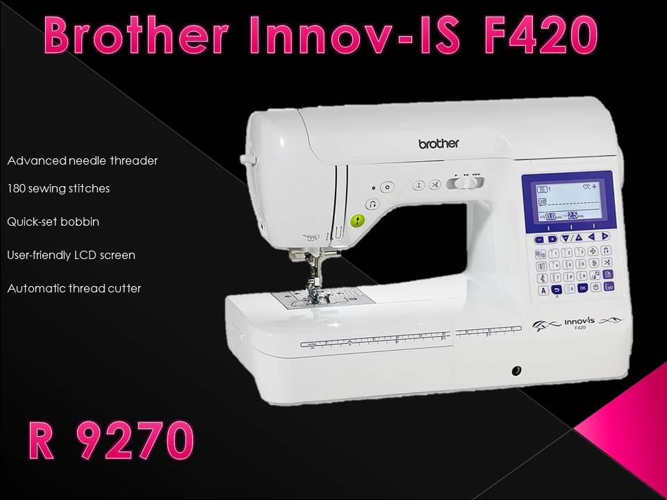 Black Friday Special Brother Innov Is F420 Sewing Machine Junk Mail