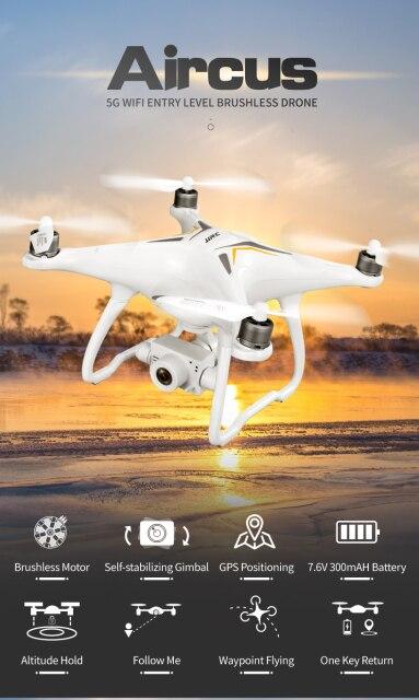 GPS Drone Brushless Professional 5G Follow Me Wi-Fi FPV 1080P HD Camera