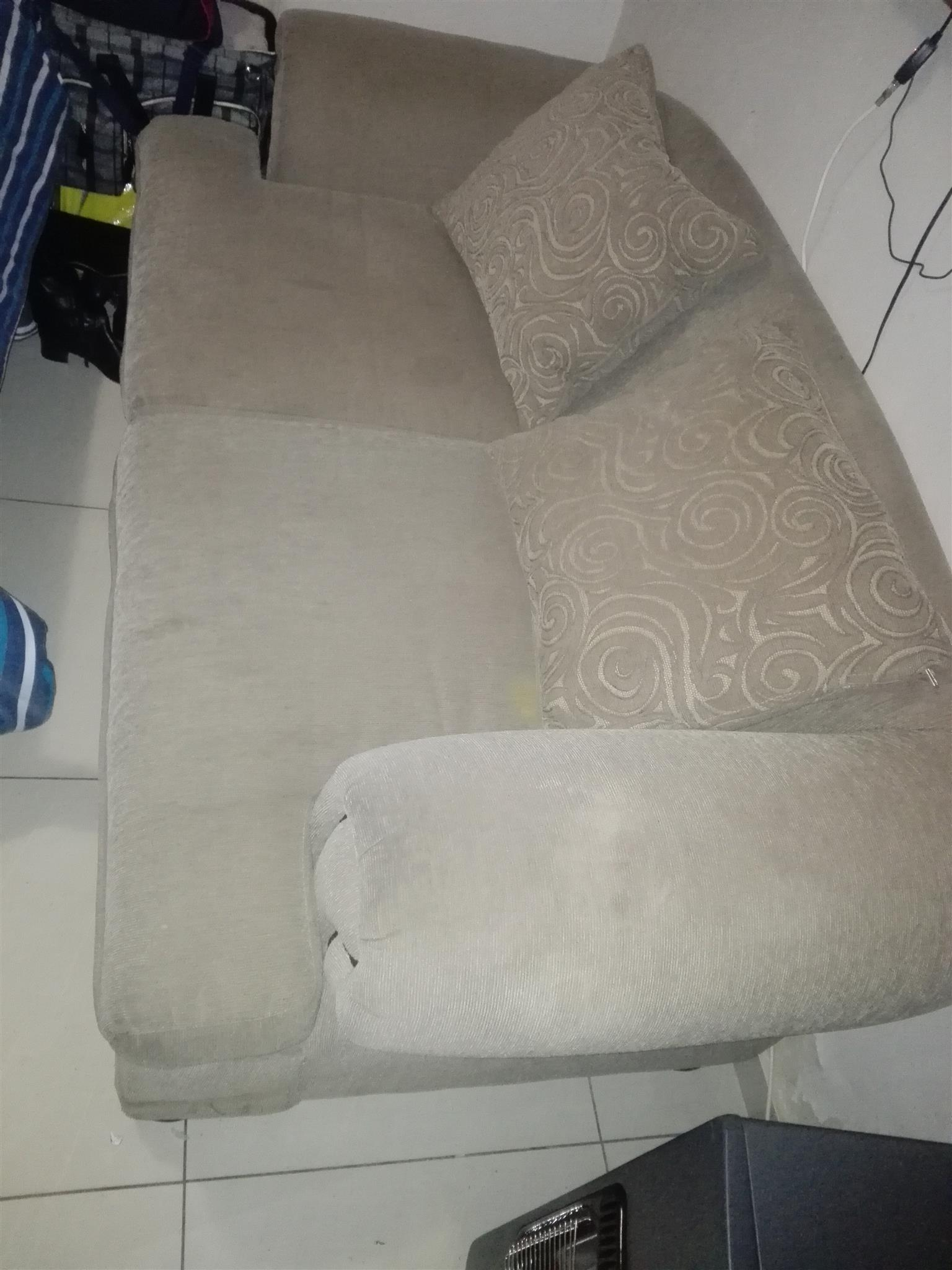 2 - Seater Couch Crytal for sale. Still fresh selling because of space.