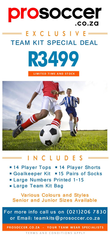 Dreamballs Soccer Team Kits OCTOBER Special