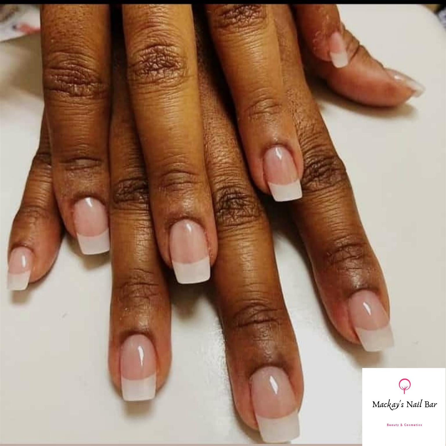 GET YOUR FRENCH TIPS NAILS , FOR ONLY R 80 AFFORDABLE PRICES