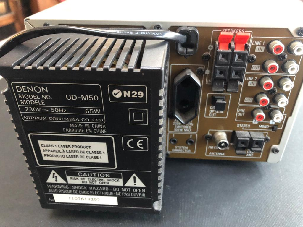 Denon UD M50 Amp Tuner - Receiver-PLEASE DESCRIPTION BELOW!