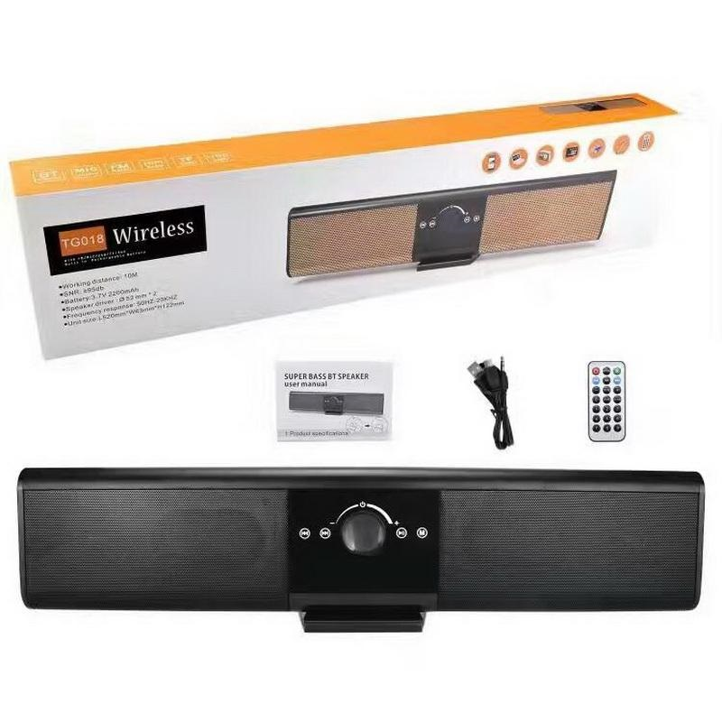MULTI-FUNCTIONAL WIRELESS MUSIC BLUETOOTH 4.2 SPEAKER WITH DIGITAL DISPLAY AND REMOTE CONTROL