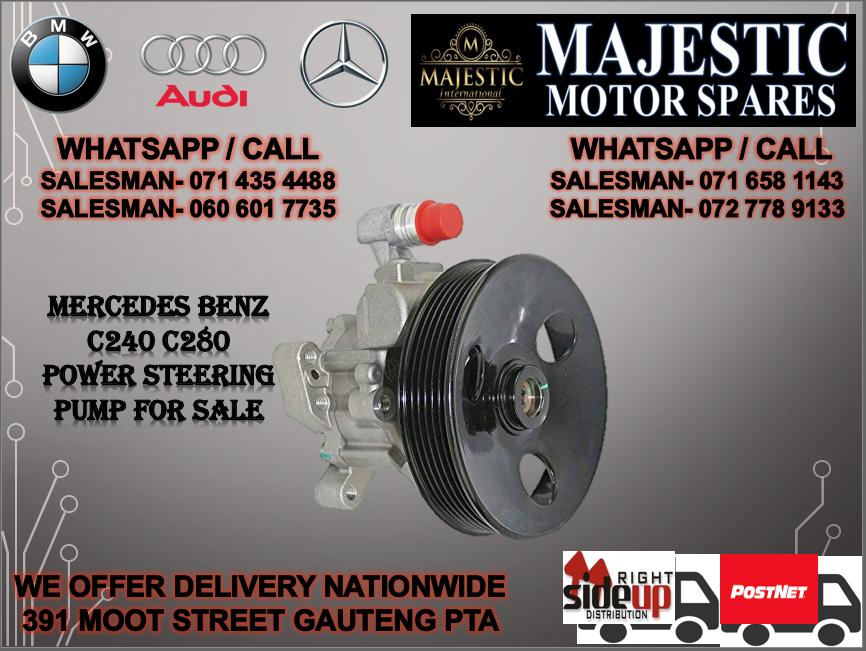 Mercedes benz C240 power steering pump for sale
