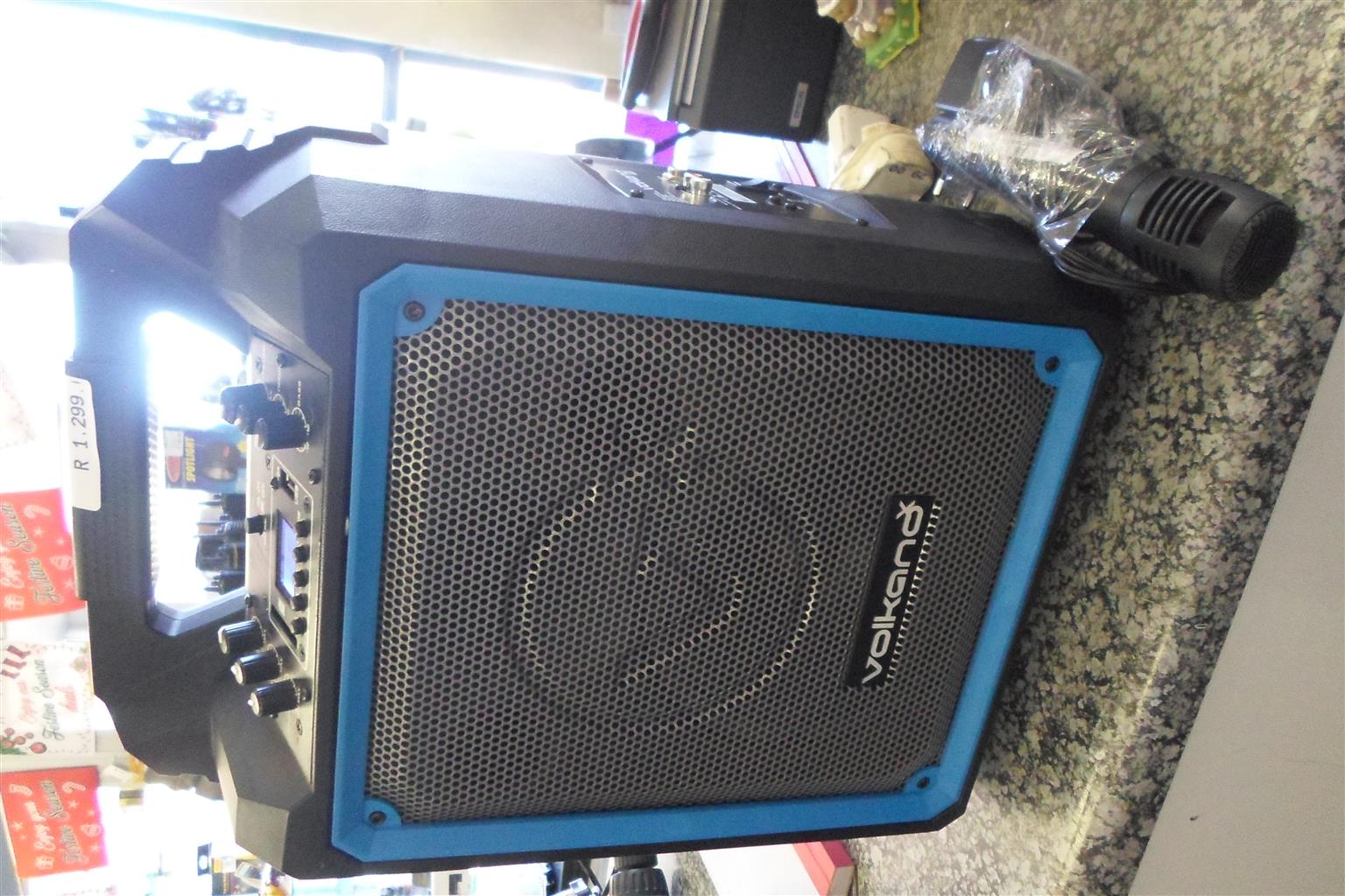 "6.5"" Volkano Bluetooth Wireless Speaker"