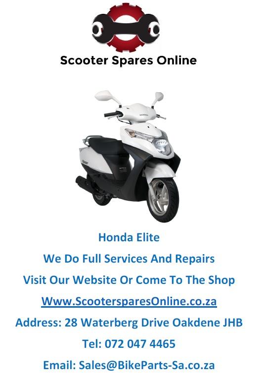 Honda Elite Spares And Repairs
