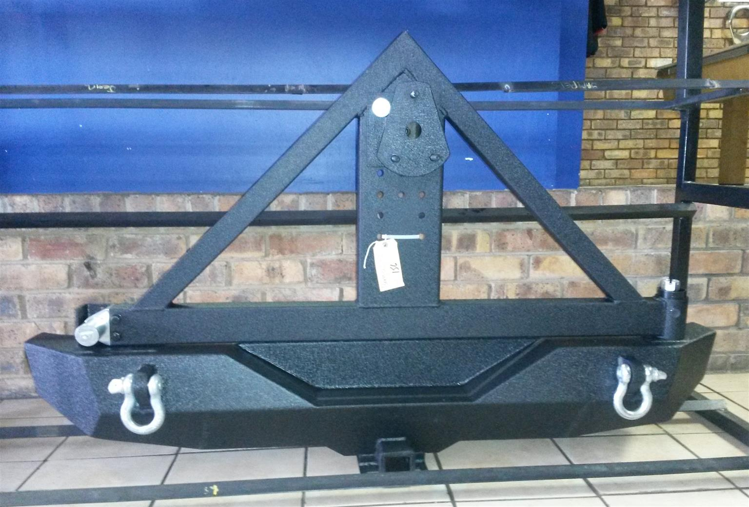 JEEP WRANGLER REAR TYRE CARRIER FOR SALE