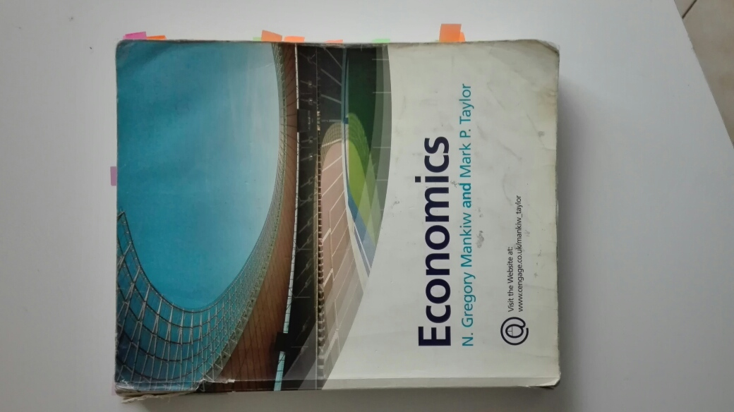 Text Book Economics N Gregory Mankiw and Mark P Taylor