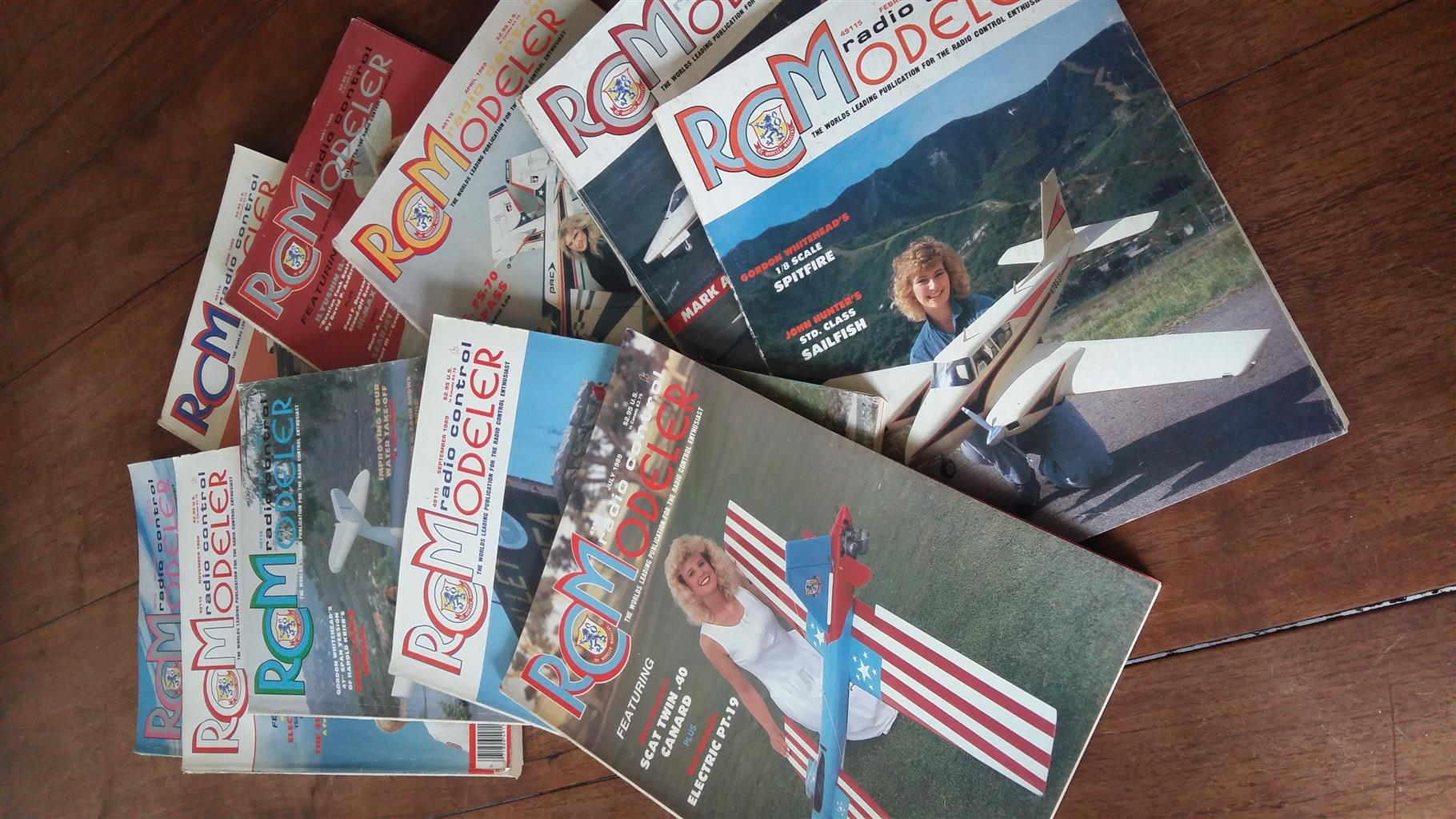Radio Controlled Model plane magazines