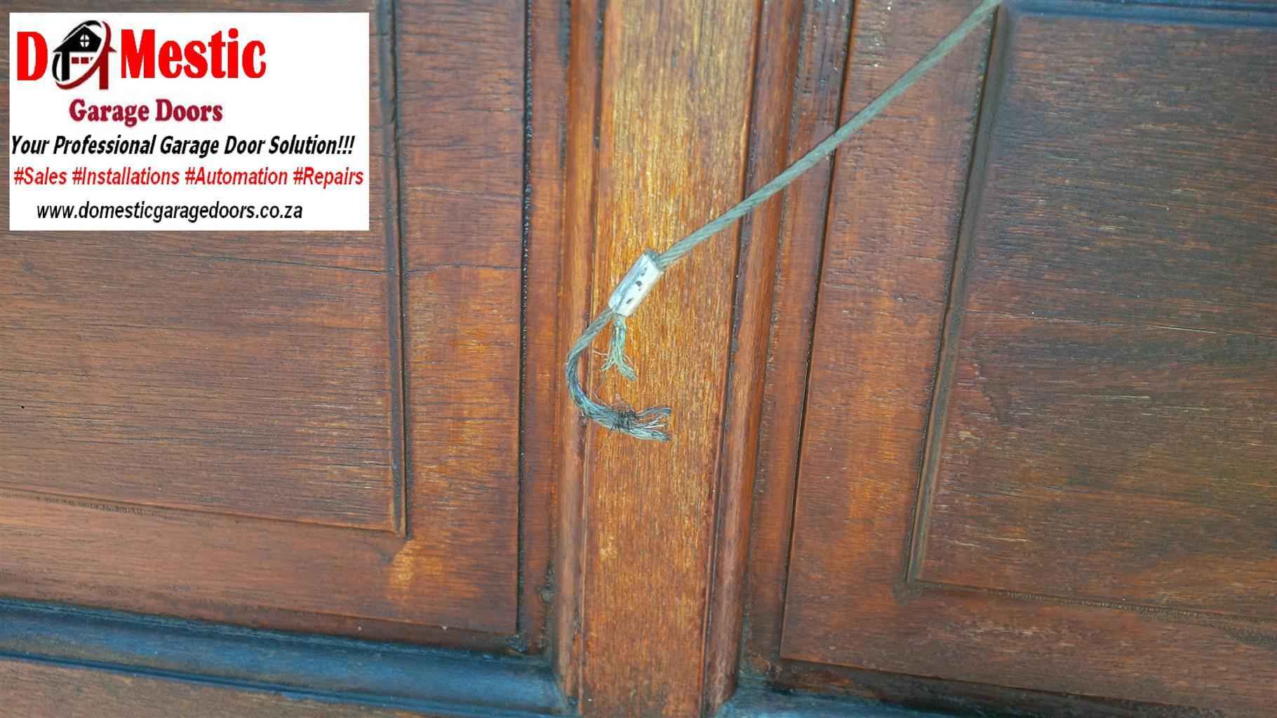 Residential Garage Door Repairs Junk Mail