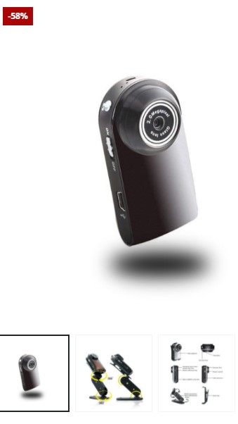 Mini DVR Camera + Free 16GB
