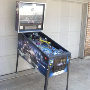 Batman , The Dark Night , a Stern pinball machine , available on order