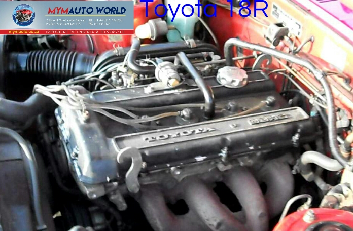 Complete Imported used TOYOTA CRESIDDA/HILUX 1.8L, 18R engine