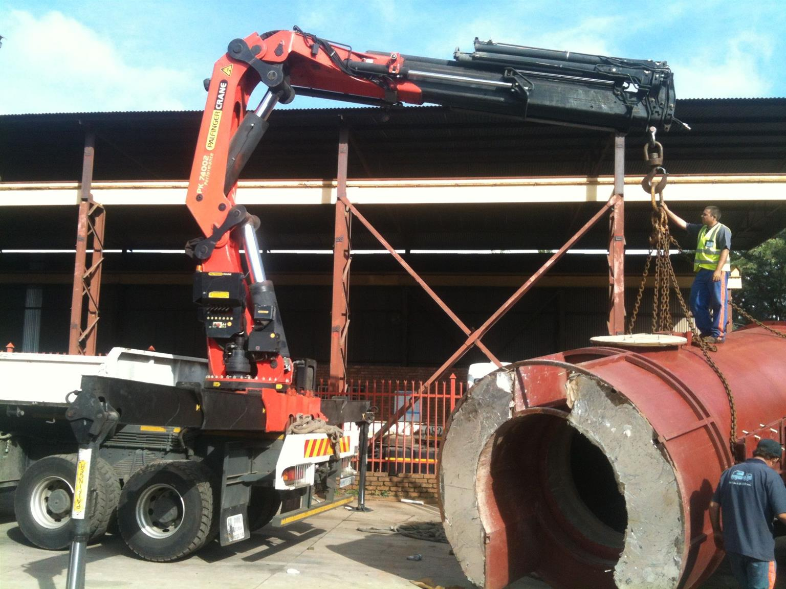Crane Trucks available for you today!  Call Shelton @ Rigg Rental now.