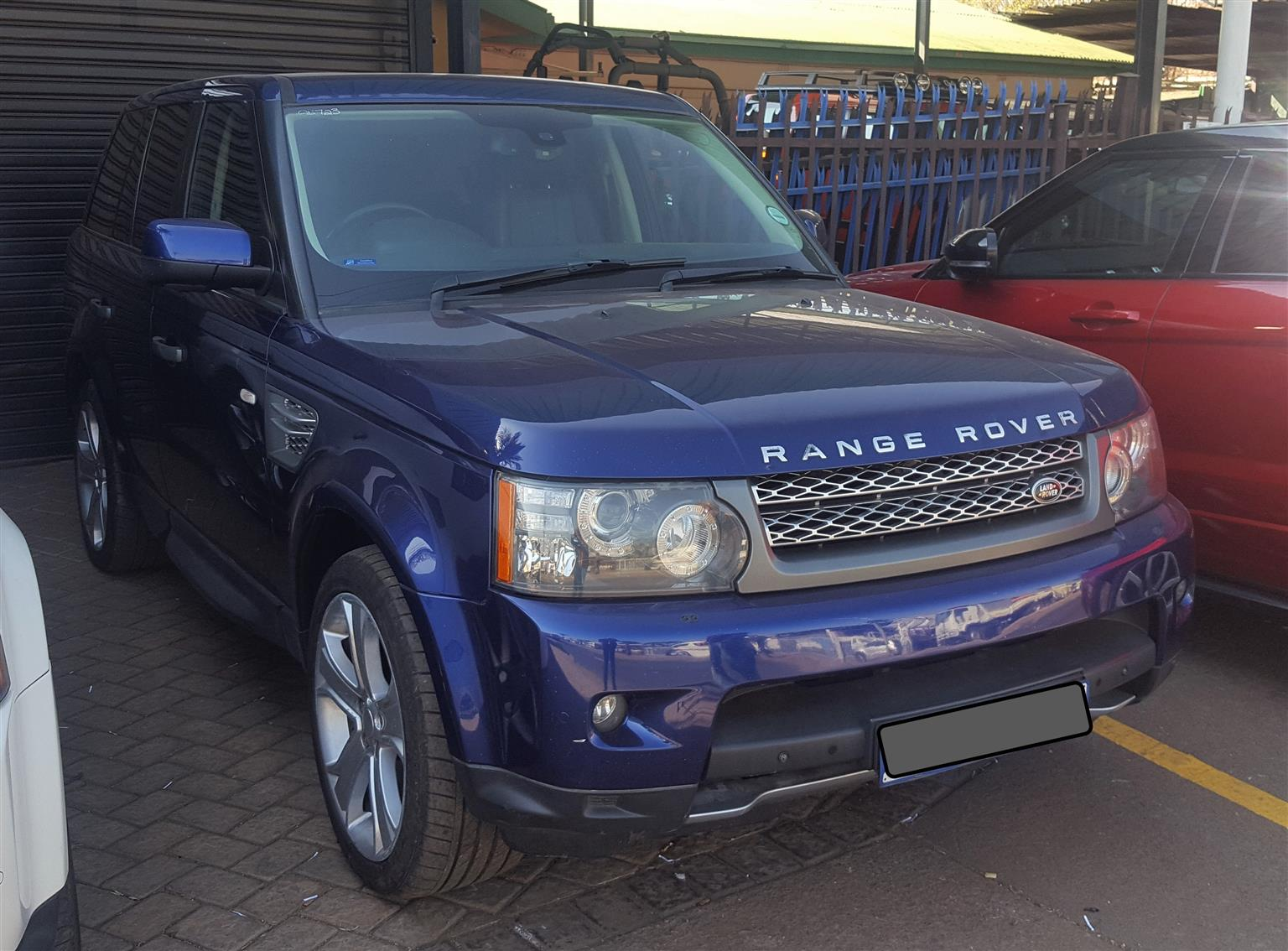 2011 Land Rover Range Rover Sport Supercharged