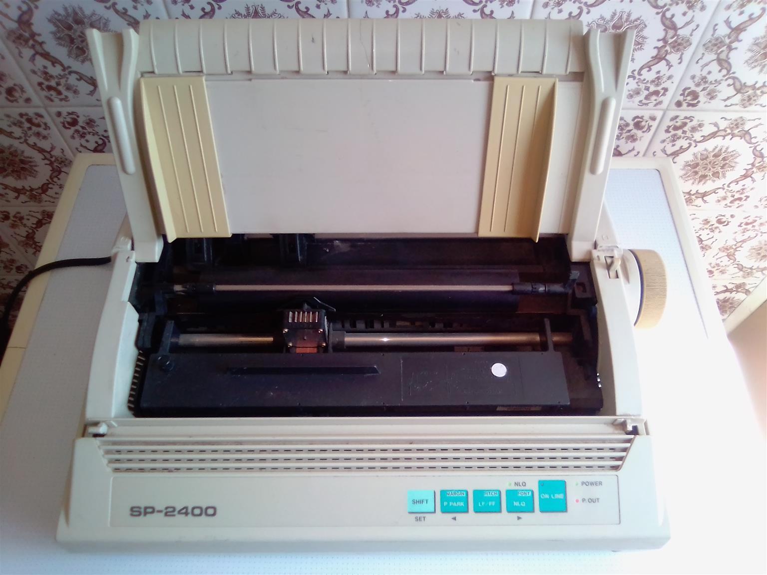 Seikosha SP 2400  Dot Matrix Printer. In good working condition.