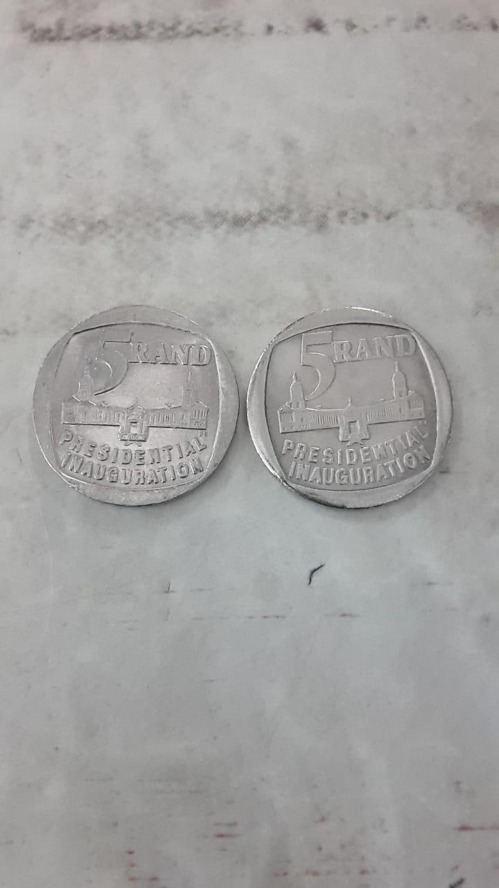 presidential inauguration 1994 r5 coin