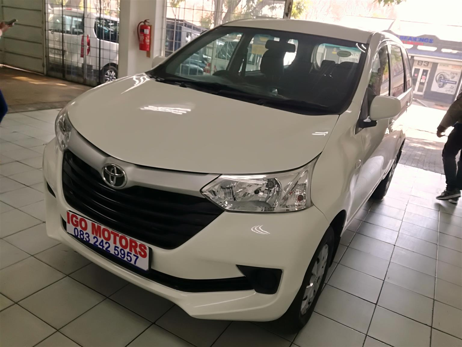 2019 Toyota Avanza 1.3SX