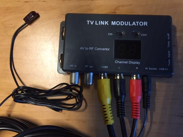 TV Link Modulator