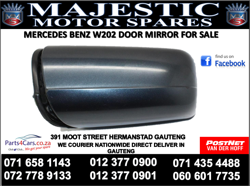 Mercedes benz w202 door mirror for sale