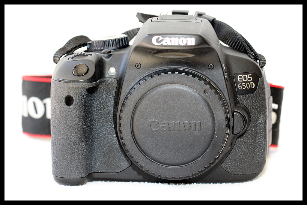 Canon EOS 650D - Body Only