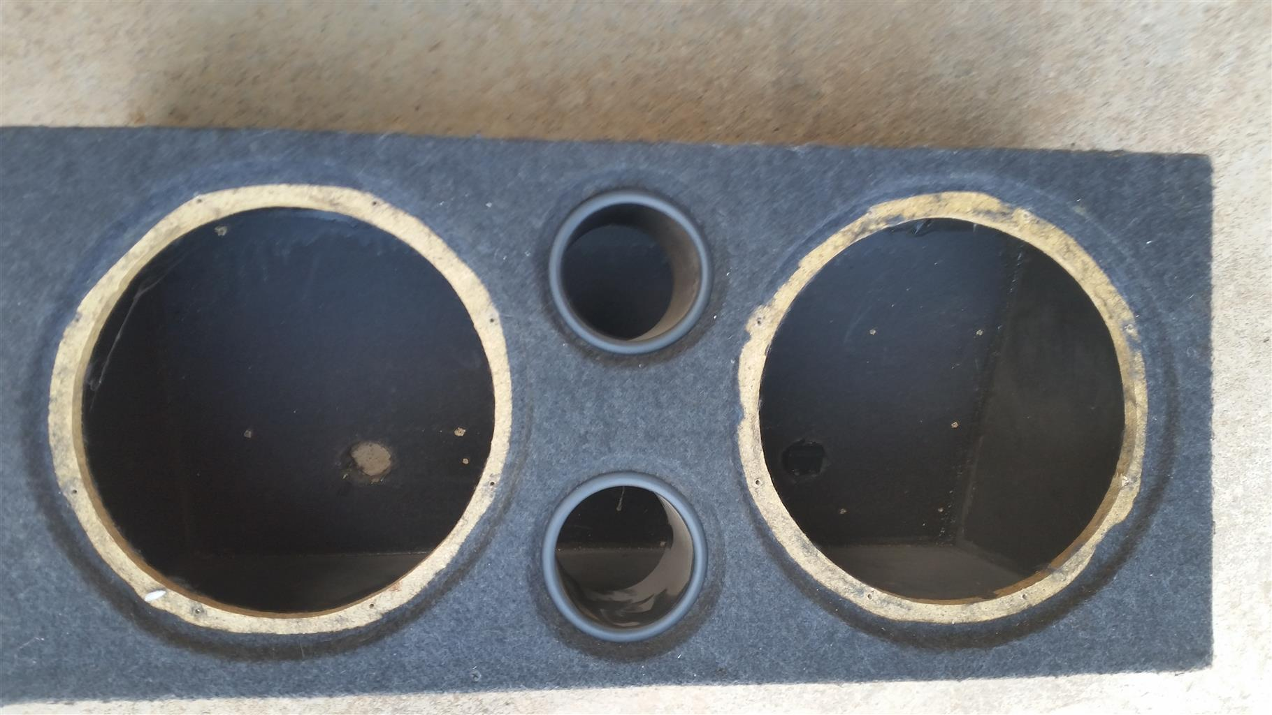 Sub box and cap for sale