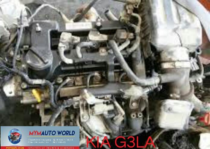 Complete used KIA G3LA engine Complete